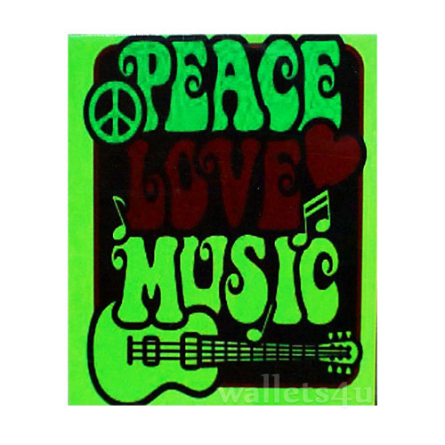 Magic Wallet, Peace Love Music - MWSP 0244