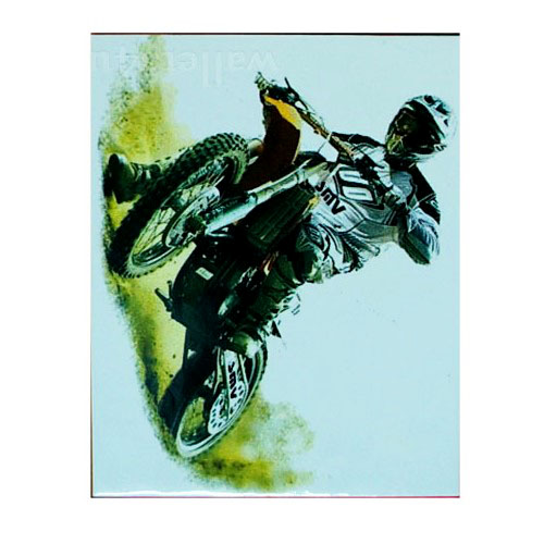 Magic Wallet, A Guy Driving Motorbike - MWCMP0111