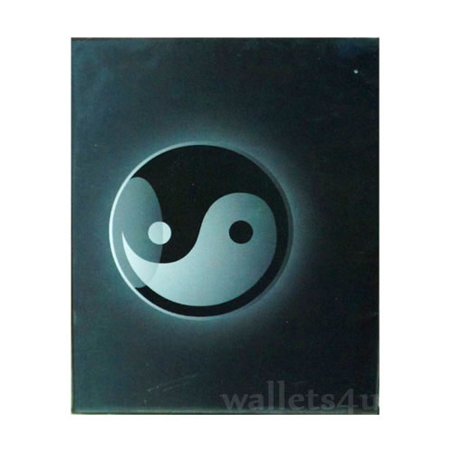 *Magic Wallet, YingYang, Black - MWSP 0212
