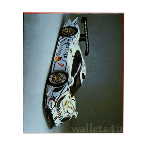 Magic Wallet, Racing Car, White - MWCMP0119