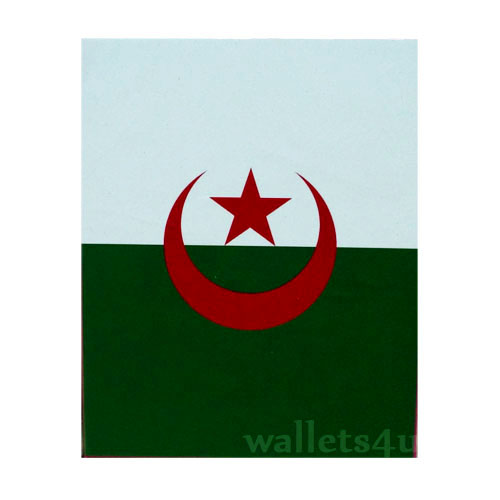 Magic Wallet, Algeria Flag - 0143