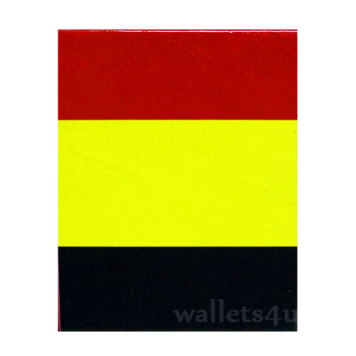 Magic Wallet, Belgium Flag - 0145