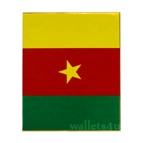 Magic Wallet, Cameroon Flag - 0146
