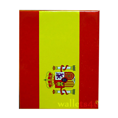 *Magic Wallet, Spainish Flag, bandera de España billetera - 0139