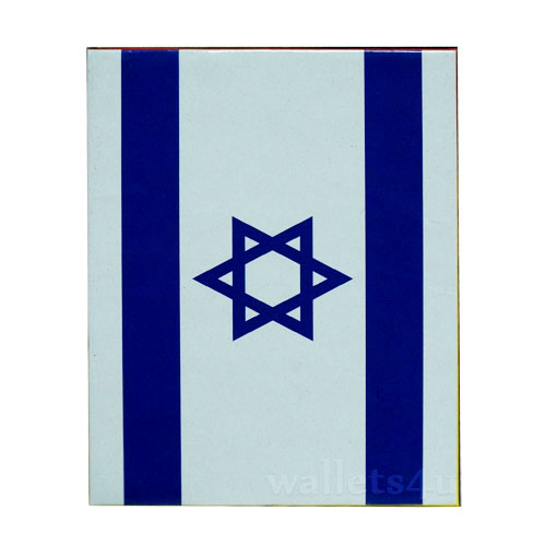 Magic Wallet, Israel Flag - 0149