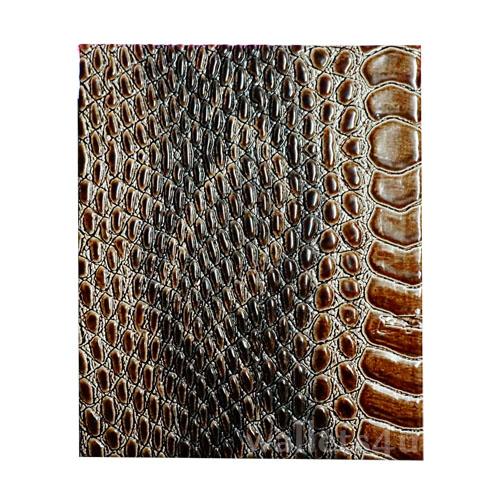 Magic Wallet, MWPD0044, Snake Leather Brown