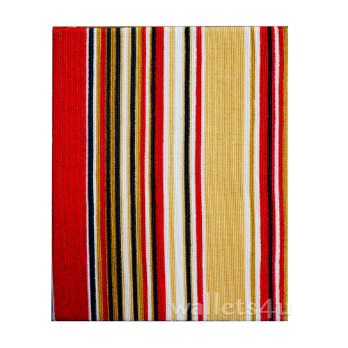 Magic Wallet, MWPD0056, Stripes Red Yellow