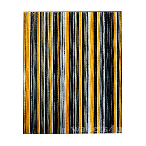 Magic Wallet, MWPD0057, Stripes Yellow Black