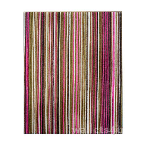 Magic Wallet, MWPD0055, Stripes Pink