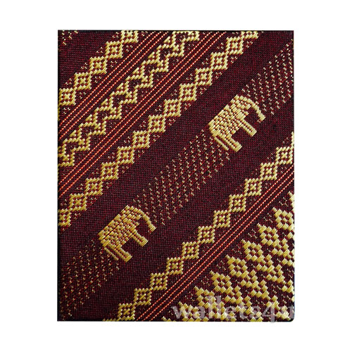 Magic Wallet, MWPD0064, Thai Elephant RedBrown