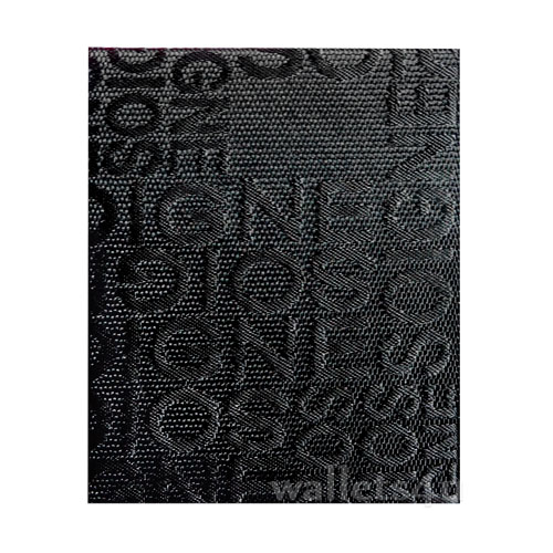Magic Wallet, MWPD0029, English alphabet Black