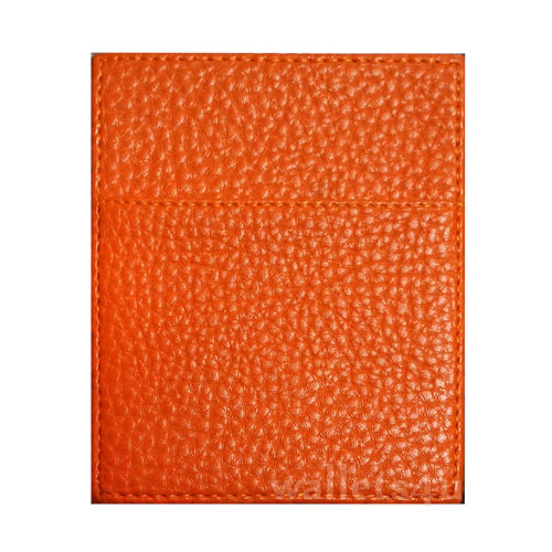 Magic Wallet, Leather Orange, Coin Pouch - CP0291