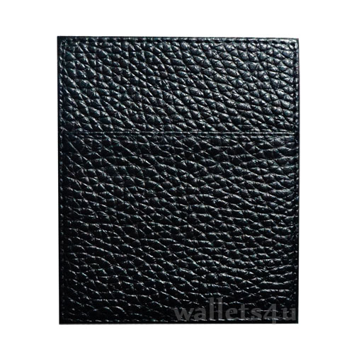 Magic Wallet, Leather Black, Shiny, Coin Pouch - CP0290