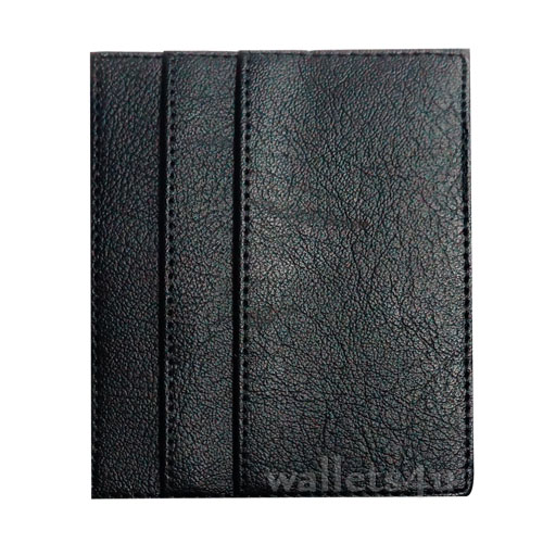 Magic Wallet, black leather, multi card - MC0256