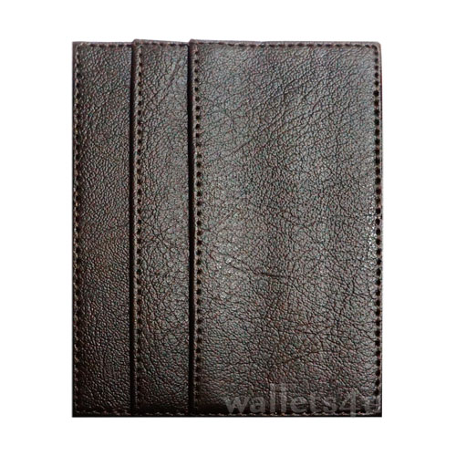 Magic Wallet, brown leather, multi card - MC0258