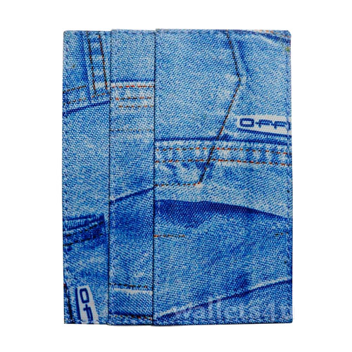 Magic Wallet, denim blue, multi card - MC0263