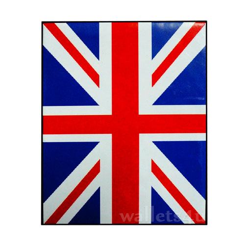 *Magic Wallet, United Kingdom Flag - 0140