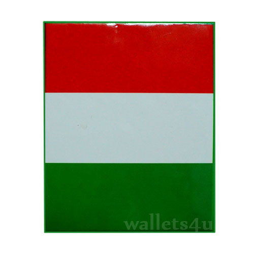 *Magic Wallet, Italian Flag, bandiera Italia portafoglio - 0137