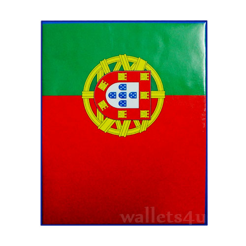 *Magic Wallet, Portugal Flag, flag portugal carteira - 0138
