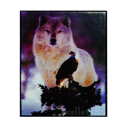*Magic Wallet, Siberian dog, Falcon - MWAP0074