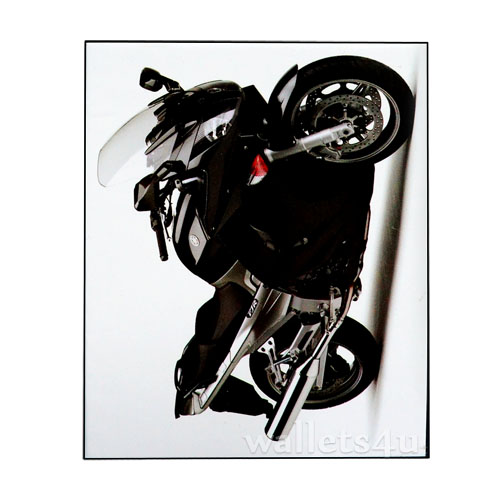 Magic Wallet, Motorbike, Black - MWCMP0113