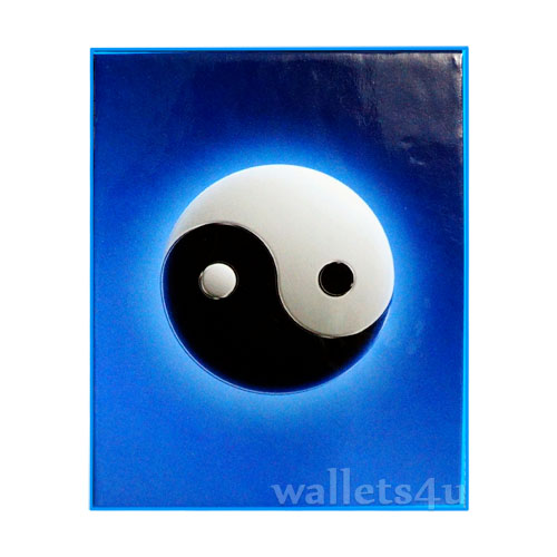 *Magic Wallet, YingYang, Blue - MWSP 0213