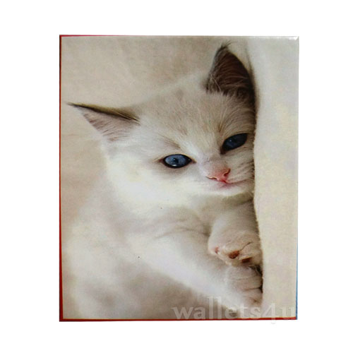 *Magic Wallet, Cat, White - MWAP0067