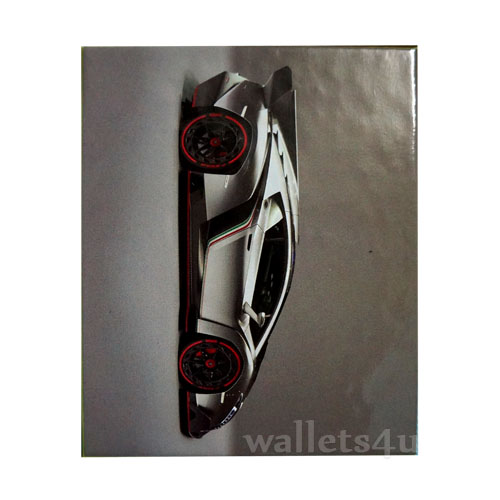 Magic Wallet, Racing Car, Gray - MWCMP0118