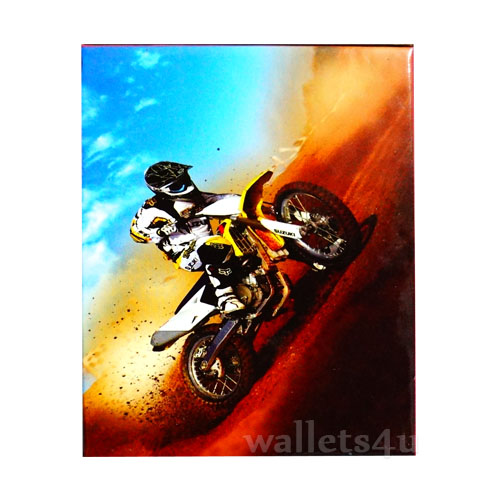 Magic Wallet, A Guy Driving Motorbike - MWCMP0110