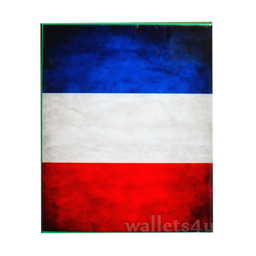 *Magic Wallet, French Flag, drapeau français portefeuille - 0135